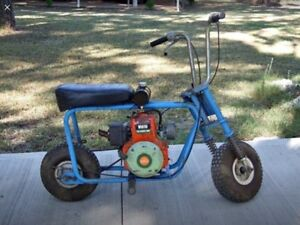 Wanted: OLD LAWNMOWER MINI BIKES WANTED, DECKSON, ETC, PARTS WRECKS.