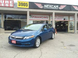 2012 Honda Civic EX 5 SPEED A/C SUNROOF ONLY 129K