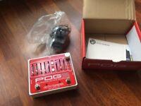 Electro Harmonix POG 2 Octave Pedal - like new with box and power plug