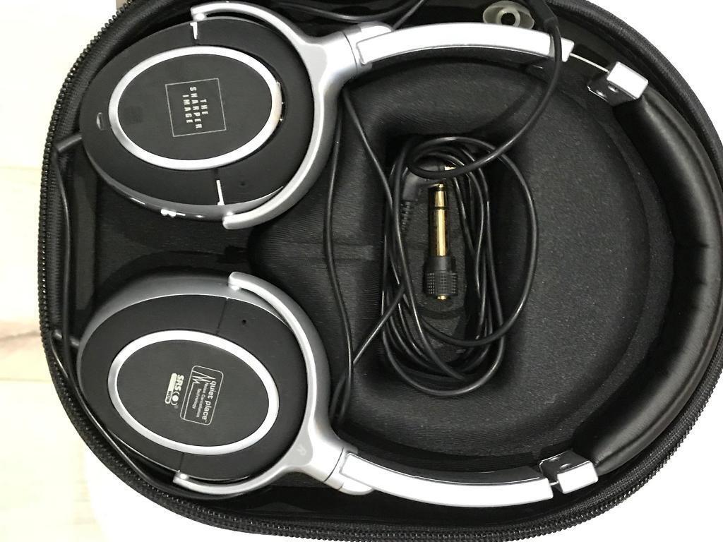 Noise Cancelling Headphones Sharper Image Wwwtopsimagescom