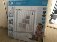 Mothercare Safest Start Easy Loc Pressure Fit Safety Gate for sale £20