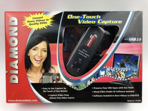 Diamond VHS to DVD One Touch Video Capture Device USB VC500 Free Shipping