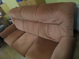 Sofa and chair £1.00 Just come and collect asap