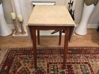 Formica drop leaf table