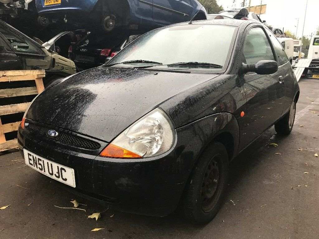 Ford KA 2001 1.3 Petrol Black 3dr Breaking For Spares