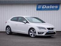 Seat Leon 1.4 TSI FR 3Dr [technology Pack] Hatchback (white) 2013