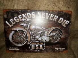 New metal signs 4#44