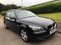 BMW 5 Series 2.0 520d SE Touring Estate. Very high spec. Full Service History, Sat Nav and Bluetooth
