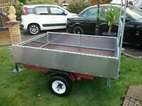 Car trailer 5ft 6ins x 4ft x 14ins deep