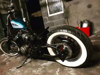Honda shadow vt 600 bobber chopper