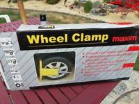 Maxim wheel clamp.