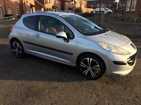 2007 PEUGEOT 207 S 1.4 1 YEAR MOT! GREAT CONDITION THROUGHOUT!