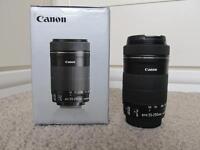 Canon EFS 55-250 mm f/4-5.6 IS STM Lens