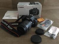 Canon EOS 600D Camera + 18-55mm in Box