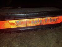 ford transit mk6/mk7 rear back step safe t bar to stop damaging back end