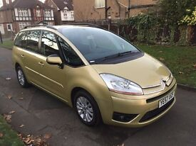 Citroen Grand C4 Picasso 1.8 i 16v VTR+ 5dr£2,499 p/x welcome 6 MONTHS FREE WARRANTY