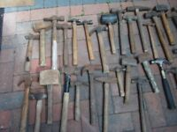 ASSORTMENTS OF HAMMERS AND MALLETS