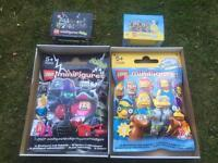 2 gigantic Lego Minfigures shop display packets for sale. New!
