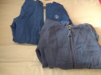 2 children's hoodies size 7 years old