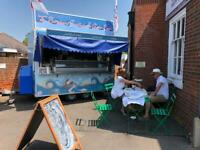 Seafood trailer / stall / business