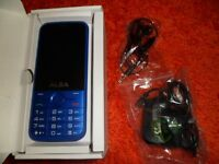 Alba Sim Free 2.8 inch Mobile Phone - Blue