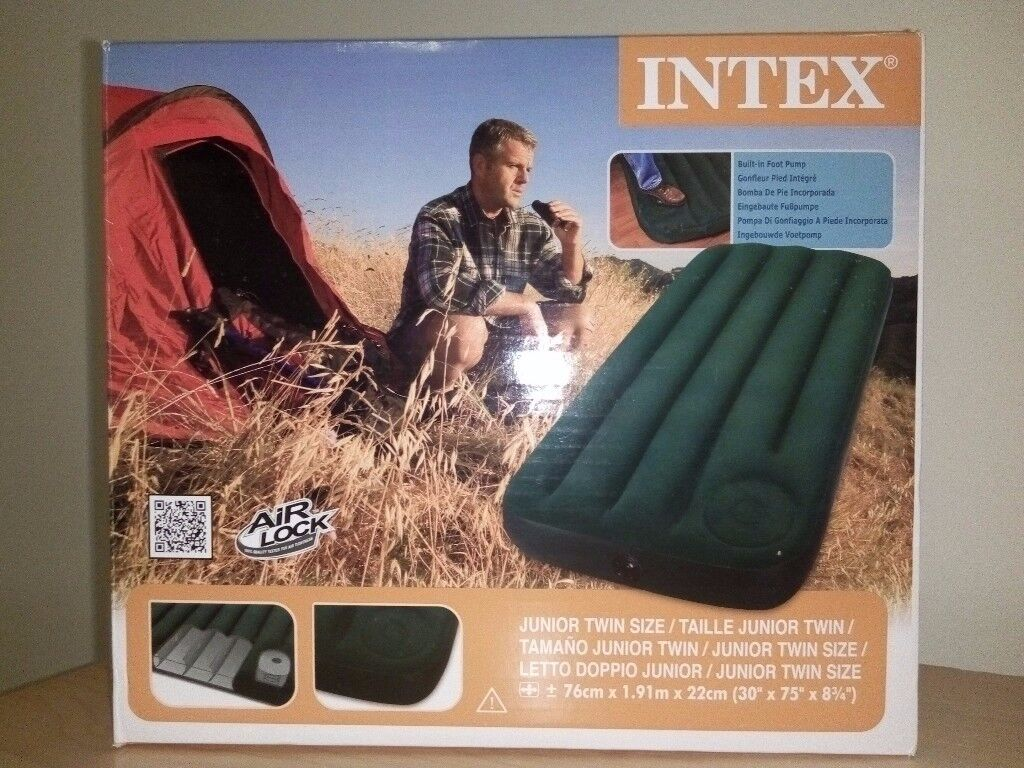 Twin Size Airbed INTEX - (UNUSED)