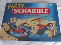 Party Scrabble Board Game - brand new and still sealed