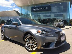 2015 Lexus IS 250 1 Owner Lthr AWD Btooth Sroof BUcam
