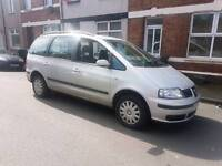 7 seats Seat Alhambra with long mot drives well px options available
