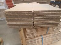 Small cardboard boxes, very strong, double corrigated ideal for Ebay