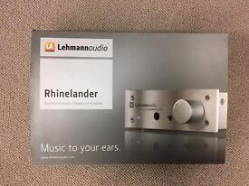 Lehmann Audio Rhinelander Headphone Amp Black, As New.