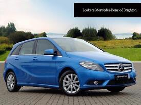 Mercedes-Benz B Class B180 BLUEEFFICIENCY SE (blue) 2013-10-17