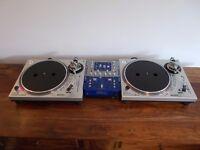 Gemini PT2000 MK3 +Numark dxm06 mixer Technics 1210/1200 alternatives superb condition/uk delivery