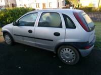Vauxhall Corsa 1ltr spare or repair
