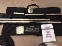 X-Pole Xpert 45mm Chrome - Excellent Condition