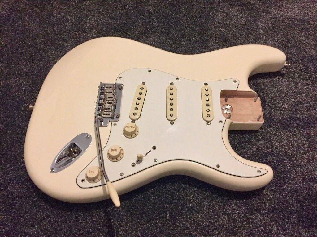 Fender American Standard Stratocaster Body Wbridge And Custom