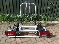 BMW X5 E70 bumper mounted bike carrier for 2 bikes