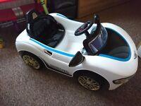 Child's kids ride on car masarati