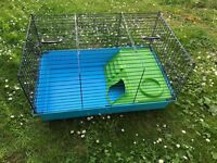 Large cage for guinea pigs small rabbits hamsters
