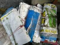 Free empty fertiliser bags