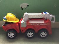 Matchbox large fire engine with light & sound