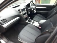 Lovely 2012 Subaru Legacy Estate 4x4, 61,000 miles, Manual, Grey, Full Service History, MOT 2018,