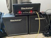 Blackstar HT-5R amp head and 2 1x12 cabs