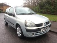 RENAULT CLIO 1.2 EXTREME 2 , 56400 MILES , MOT 23 AUG 2018 , TIMING BELT DONE ,