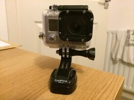 Gopro Hero 3 camera with extras!