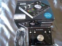 M-Audio M-Track 2x2M - Mint condition