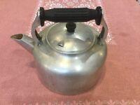 Swan vintage stove top kettle