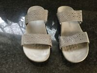Vionic sandles size 8.As new used once