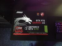 MSI GTX 970 Graphics Card - For Collection Only (Used, Great Condition)