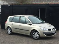 ★ 2008 RENAULT GRAND SCENIC 1.6L + 7 SEATER + ALLOYS + STEERING CONTROLS ★FACE LIFT ++